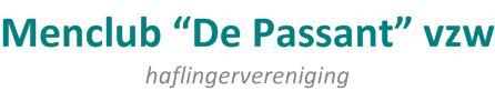 """Menclub """"De Passant"""" vzw"""